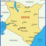 kenyamapwithcities 150x150 Kenya Map