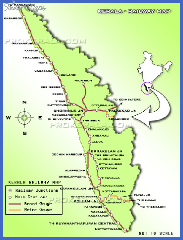 kerala railways map Mozambique Metro Map