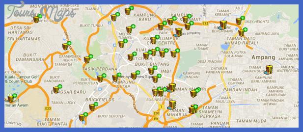 kl map Kuala Lumpur Map