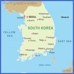 korea map 150x150 Korea, South Map Tourist Attractions