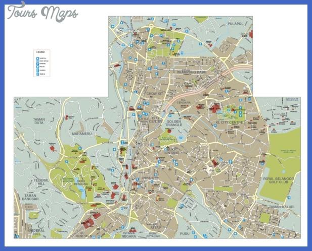 kuala lumpur Kuala Lumpur Map