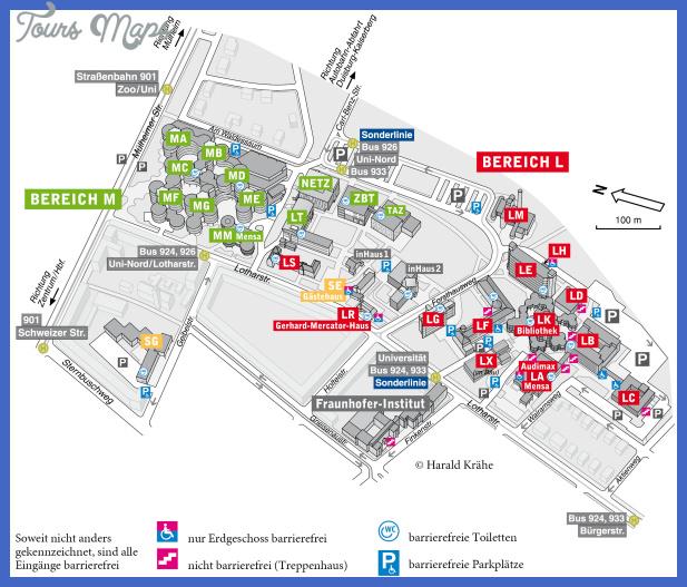 EssenDsseldorf Subway Map ToursMapscom