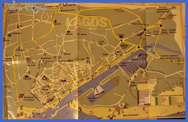lagos map 2 Lagos Map