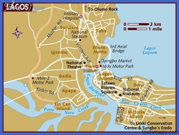 lagos map  0 Lagos Map