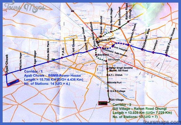 lahore metro map 0 Lahore Metro Map