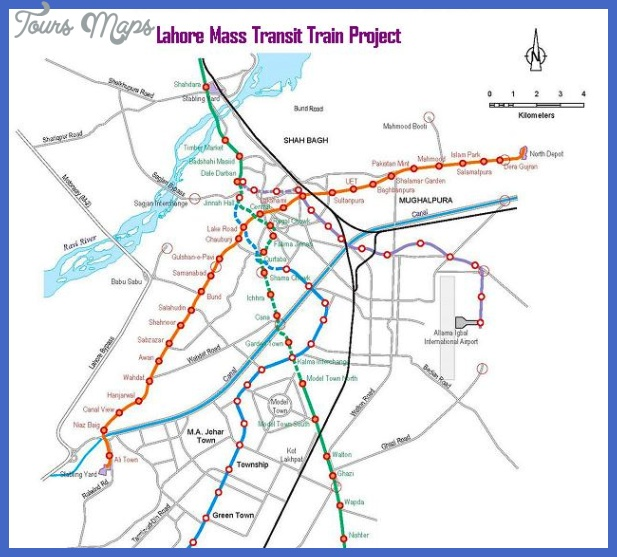 lahore metro train route map 2014 picture with areas stops 001 Pakistan Metro Map