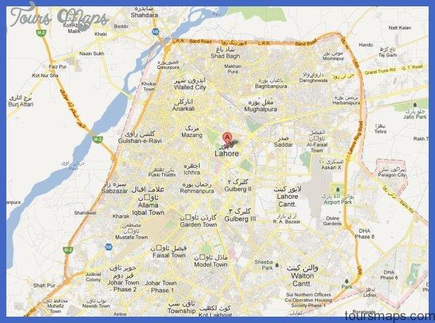 lahore subway map 8 Lahore Subway Map