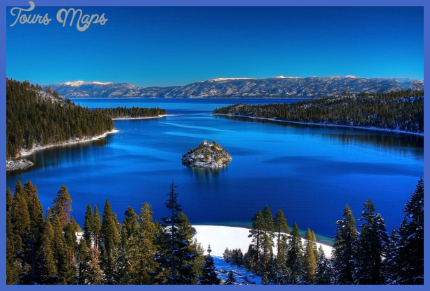 lake tahoe california nevada1 Best places to visit in USA in winter