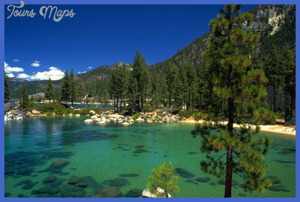 lake tahoe california nevada61 Best places for summer vacation in USA