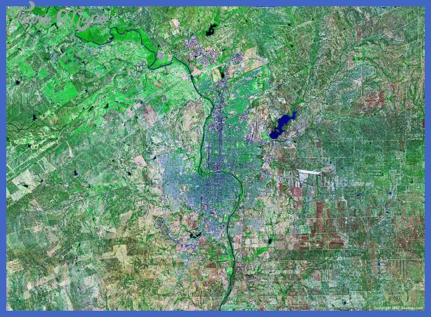 laredo satellite image Laredo Subway Map