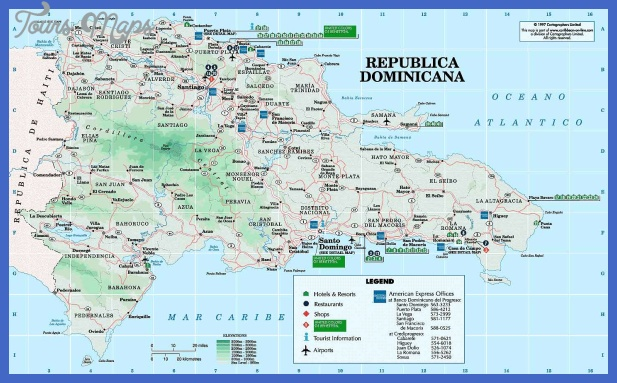 Dominican Republic Map Tourist Attractions Map Travel - Dominican republic map