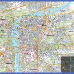 large detailed road and tourist map of prague city 150x150 Czech Republic Map Tourist Attractions