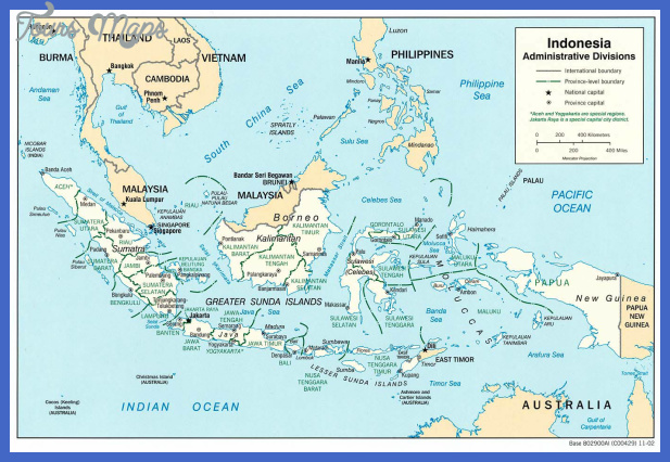 large detailed administrative map of indonesia Indonesia Map