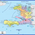 large detailed political and road map of haiti with cities 150x150 Haiti Map