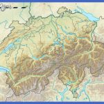 large detailed relief map of switzerland 150x150 Switzerland Map