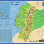 large detailed tourist map of ecuador with roads 150x150 Ecuador Map Tourist Attractions