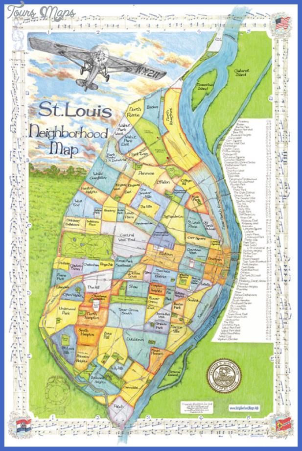 largeview stlouis St. Louis Map