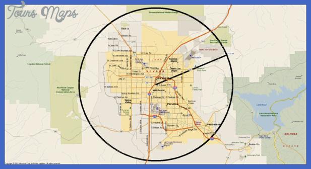 las vegas metro North Las Vegas Metro Map