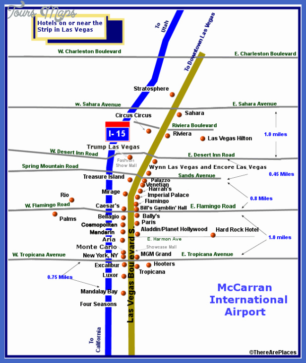 las vegas subway map  3 Las Vegas Subway Map