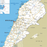 lebanon road map 150x150 Beirut Metro Map