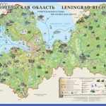 leningrad region tourist circuit map mediumthumb 150x150 St Petersburg Map Tourist Attractions