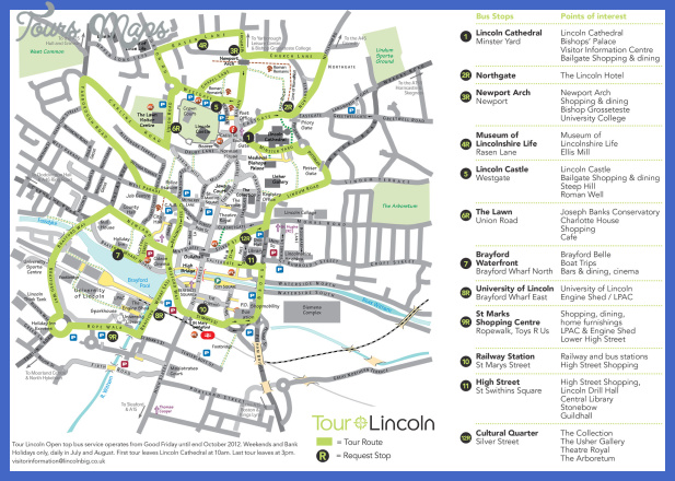 lincoln map 0 Lincoln Map