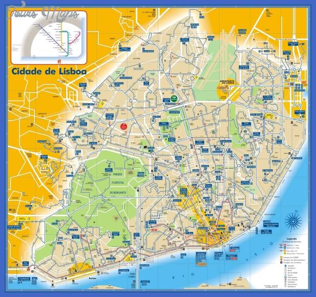 lisboa bus and subway map Togo Subway Map