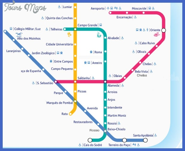 lisbon metro map Mozambique Subway Map