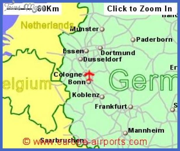 locationmap lge cgn Cologne Bonn Map