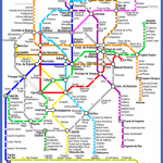 madrid metro map 150x150 Madrid Subway Map
