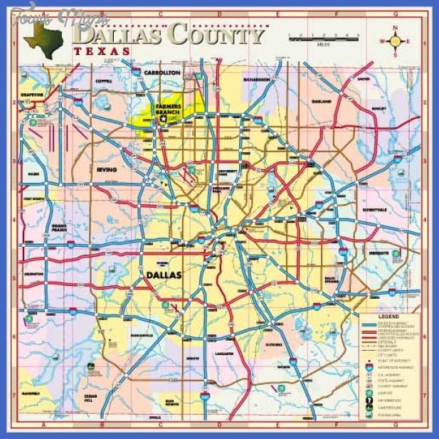 mainmap Dallas Map