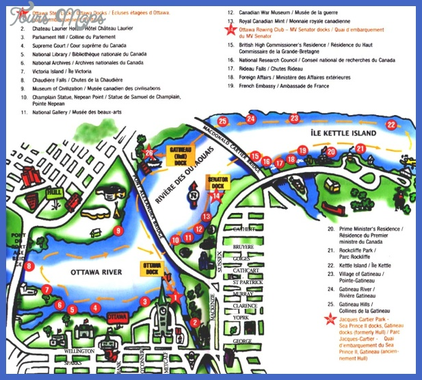 majorattractions Canada Map Tourist Attractions