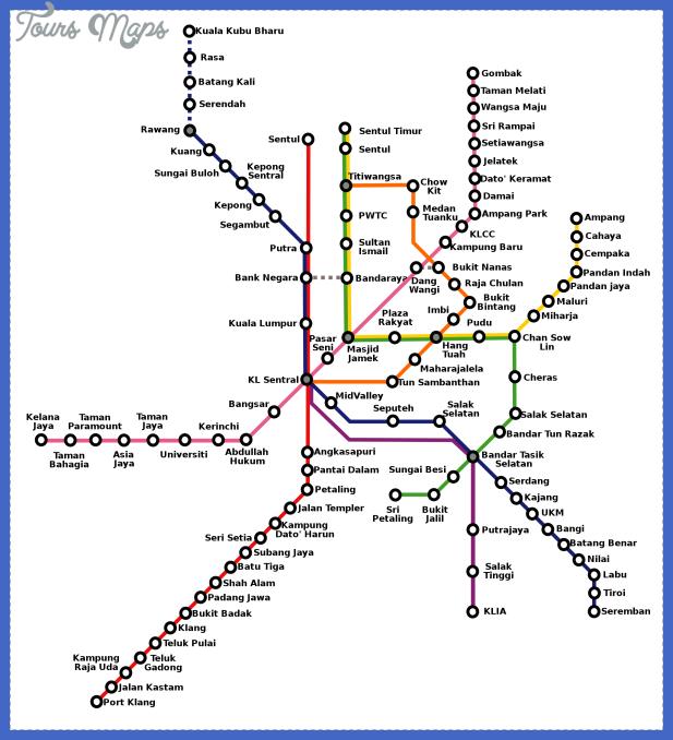 malaysia metro map  0 Malaysia Metro Map