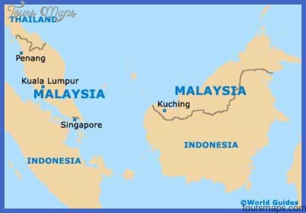 malaysia map 1 Kuala Lumpur Map
