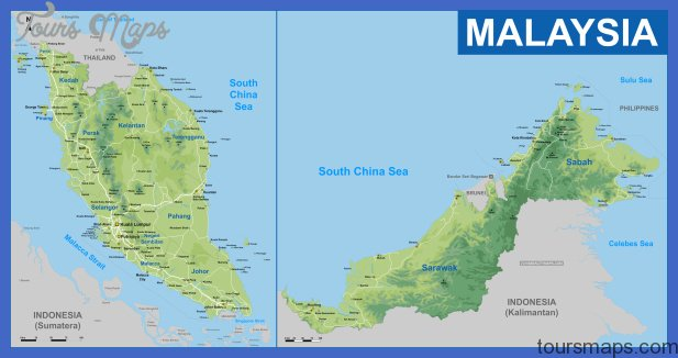 Map of Malaysia districts, Booking Malaysia , Map of Malaysia city ...