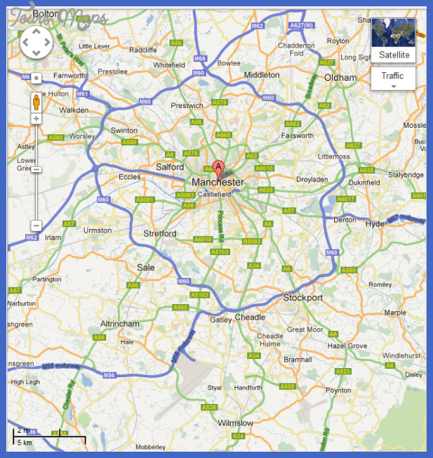 Manchester Map Related Keywords Amp Suggestions  Manchester