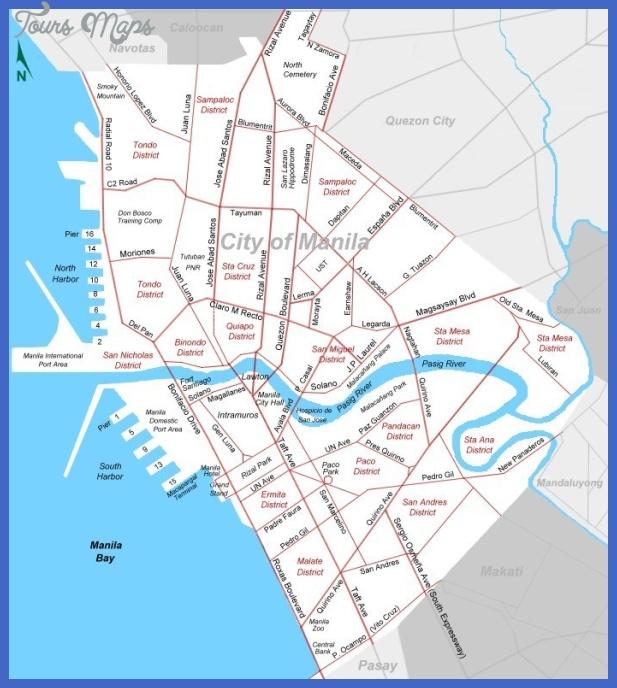 manila map 1 Manila Map