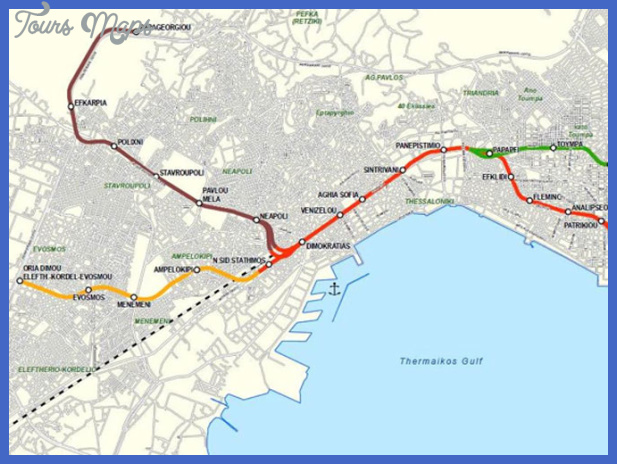 map 1 1 Greece Subway Map
