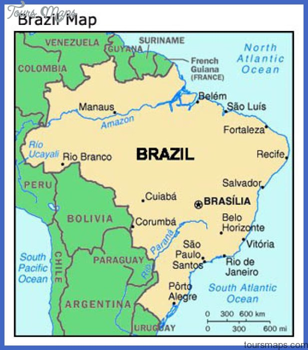 Brasilia Map ToursMapscom