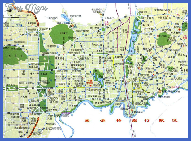 map 17 Shenzhen Map