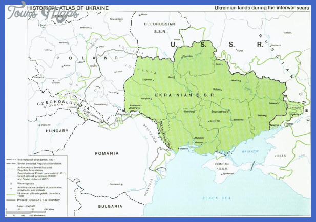 map 1939 Ukraine Subway Map