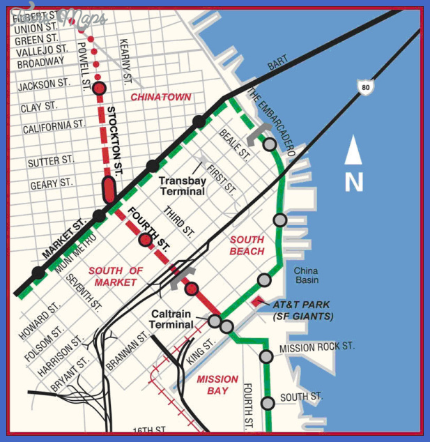map 2 San Francisco Subway Map
