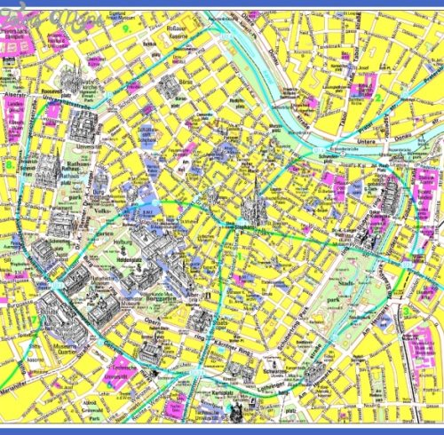 ... MAPS | Travel map for Vienna, Austria. Detailed Vienna Metro Map