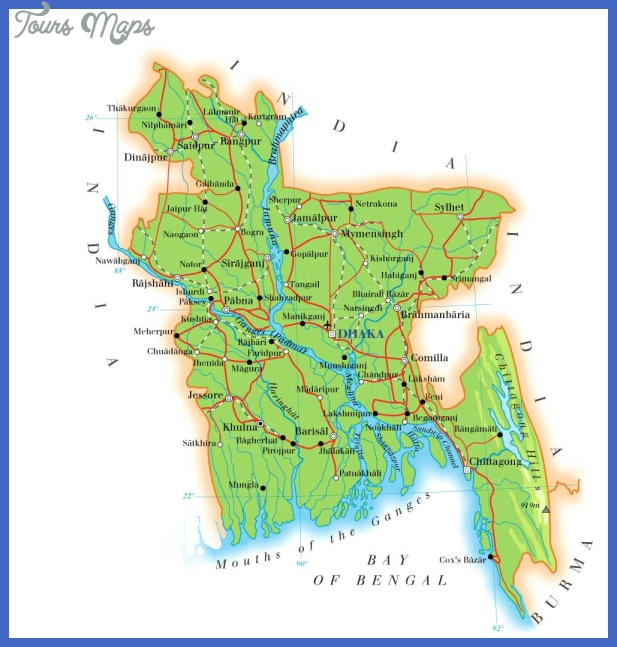 map bangladesh Bangladesh Map