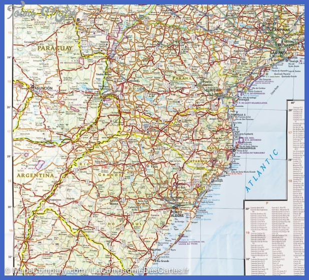 map brazil 9781566955454 4 Recife Map Tourist Attractions