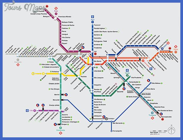 map metro sao paulo Campinas Subway Map