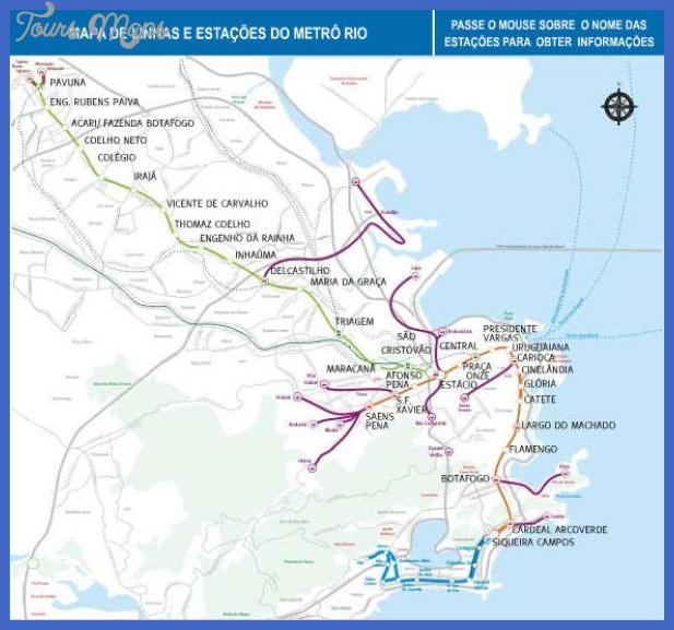 map metrorio com br Rio de Janeiro Subway Map