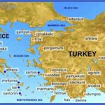 map of greece and turkey tourist sites 150x150 Dallas Map Tourist Attractions