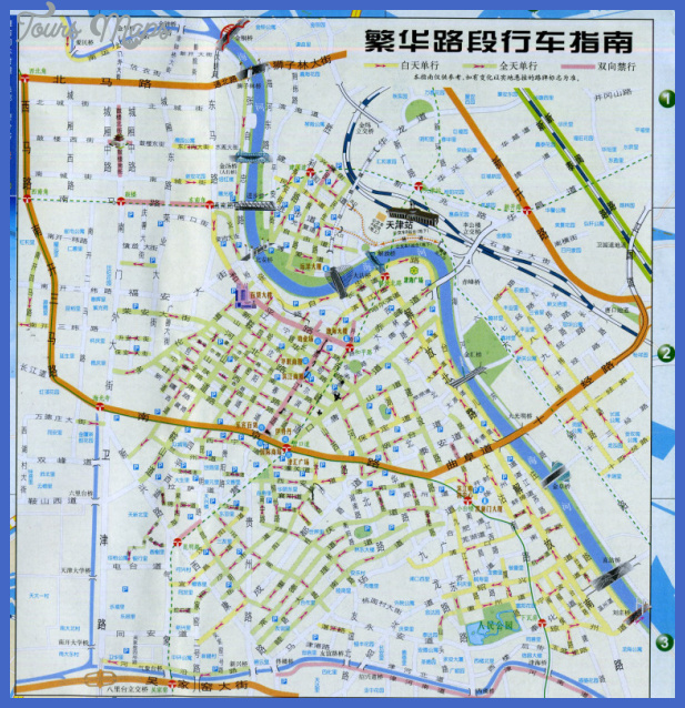 map of tianjin w761h1024 Tianjin Metro Map