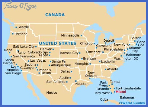 map1 miami Hialeah Map Tourist Attractions